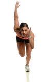 Funzionamento dello sprinter Fotografia Stock