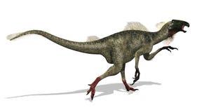 Funzionamento di Beipiaosaurus Illustrazione di Stock