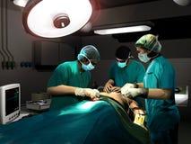 Funzionamento di chirurgia Fotografia Stock