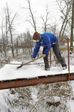 Funzionamento di inverno Fotografia Stock Libera da Diritti