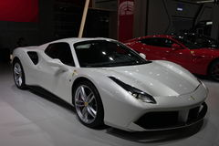 Funzionamento eccellente di Ferrari Immagine Stock Libera da Diritti