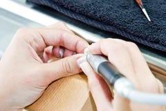 Funzionamento femminile del orthodontist Fotografie Stock Libere da Diritti