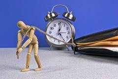 Funzionamento fuori orario Fotografia Stock