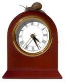 Funzionando dalle lumache di concetto del ~ di tempo percorre il ~ Isolat Fotografia Stock