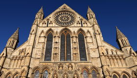 Funzione del sud della cattedrale di York immagini stock libere da diritti