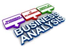 Funzione di analisi commerciale illustrazione di stock