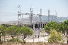 Funzione di energia elettrica Immagini Stock