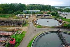 Funzione di pulizia dell'acqua all'aperto Fotografia Stock