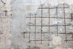 Funzioni giù il muro di cemento Fotografia Stock