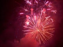 Fuochi d'artificio 01 Fotografia Stock Libera da Diritti
