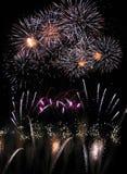 Fuochi d'artificio 02 fotografia stock libera da diritti