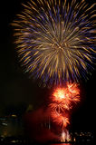 Fuochi d'artificio 1 fotografie stock