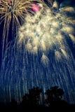 Fuochi d'artificio Immagine Stock Libera da Diritti