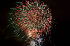 Fuochi d'artificio 17 fotografie stock libere da diritti