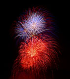 Fuochi d'artificio! Fotografia Stock Libera da Diritti