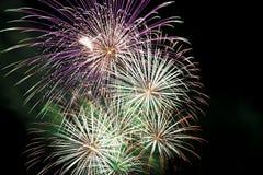Fuochi d'artificio 2 Immagine Stock