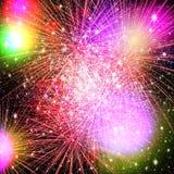 Fuochi d'artificio. Fotografie Stock Libere da Diritti