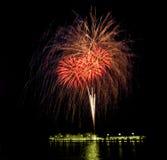 Fuochi d'artificio [3] fotografia stock