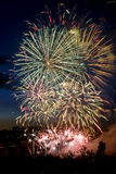 Fuochi d'artificio 33 Fotografia Stock Libera da Diritti
