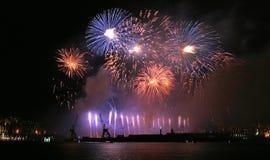 Fuochi d'artificio 003 Fotografie Stock Libere da Diritti