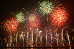Fuochi d'artificio Fotografia Stock