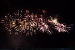 Fuochi d'artificio 2 Fotografia Stock Libera da Diritti