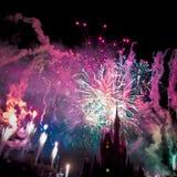 Fuochi d'artificio Immagini Stock Libere da Diritti