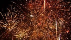 Fuochi d'artificio 24 stock footage