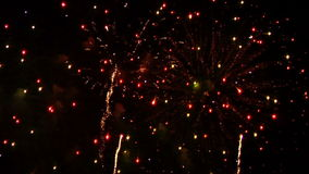 Fuochi d'artificio 19 stock footage
