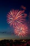 Fuochi d'artificio 6 Fotografia Stock Libera da Diritti