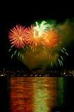 Fuochi d'artificio 6 Fotografie Stock