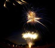 Fuochi d'artificio Fotografie Stock
