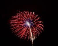 Fuochi d'artificio 9 fotografia stock