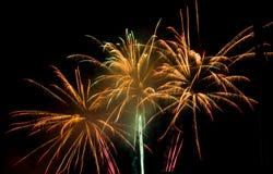 Fuochi d'artificio Fotografia Stock Libera da Diritti