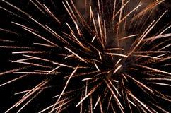Fuochi d'artificio Fotografie Stock Libere da Diritti