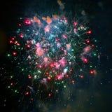 Fuochi d'artificio del fuoco d'artificio - foto di riserva Immagini Stock