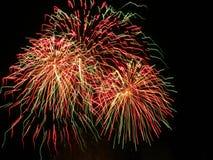 Fuochi d'artificio del fuoco d'artificio - foto di riserva Fotografia Stock Libera da Diritti