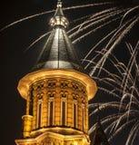 Fuochi d'artificio dell'agrifoglio Fotografia Stock Libera da Diritti
