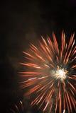 Fuochi d'artificio dell'Honduras Immagini Stock