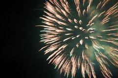 Fuochi d'artificio dell'Honduras Fotografia Stock Libera da Diritti