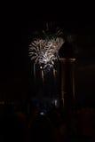 Fuochi d'artificio 2 di Barcellona Fotografie Stock