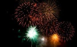 fuochi d'artificio di bellezza Fotografie Stock Libere da Diritti