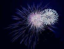 Fuochi d'artificio di brillamento Fotografia Stock