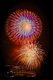 Fuochi d'artificio di Colorfull Immagine Stock Libera da Diritti