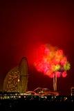 Fuochi d'artificio di Colorfull Fotografia Stock