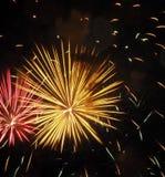 Fuochi d'artificio di giorno del Canada Fotografia Stock Libera da Diritti