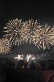 Fuochi d'artificio di giorno 2016 dell'Australia Immagine Stock