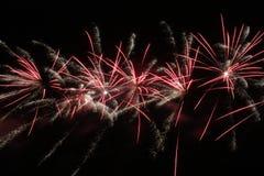 Fuochi d'artificio di indipendenza Fotografia Stock Libera da Diritti