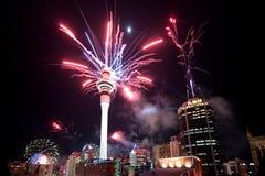 Fuochi d'artificio di RWC Fotografia Stock