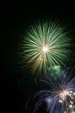 Fuochi d'artificio - Feuerwerk Fotografia Stock